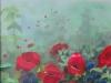 Veld met wilde bloemen bij 't  Heekenbroek   in Drempt