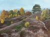Herfstkleuren op de Posbank      Acryl op doek 30x40