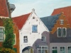 Doesburg, Gildehof, acryl