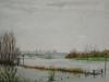 IJssel, Bronsbergen, aquarel