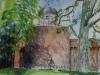 Zutpen, Bourgonjetoren, aquarel
