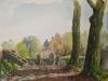 Hoog Keppel, aquarel