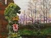 's Heerenberg, ingang Huize Bergh, acryl